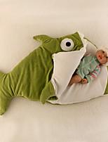 Недорогие -Детские одеяла, Однотонный Полиэстер Обогреватель удобный Очень мягкий одеяла