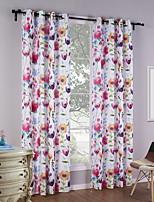 Недорогие -Современный Затемняющие 1 панель Занавес Девочки   Curtains