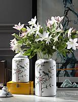 Недорогие -Искусственные Цветы 3 Филиал Классический Традиционный / классический Простой стиль лотос Вечные цветы Букеты на стол