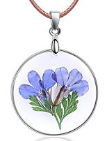 Недорогие -Жен. Мода ожерелья Цветочный принт