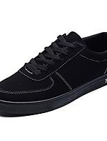 Недорогие -Муж. Комфортная обувь Полиуретан Весна На каждый день Кеды Нескользкий Черный / Серый