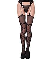 cheap -Women's Thin Pantyhose - Sexy 30D Black One-Size