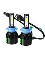Недорогие -2pcs H7 / 9005 Автомобиль Лампы 36 W COB 8000 lm Светодиодная лампа Налобный фонарь Назначение Универсальный / Volkswagen / Toyota Все года