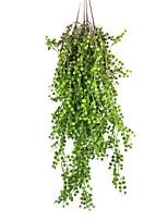 Недорогие -Искусственные Цветы 1 Филиал Классический Традиционный / классический Простой стиль Pастений Вечные цветы Цветы на стену