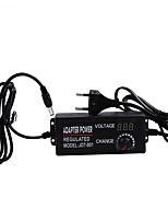 Недорогие -регулируемый переменный ток в постоянный 3v-24v универсальный адаптер с экраном напряжения питания регулируемый источник питания adatpor 3 24