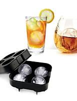 Недорогие -4 решетки виски ледяной шар плесень