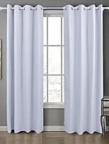 Недорогие -Однотонные Конфиденциальность 1 панель Занавес Спальня   Curtains