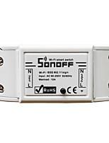 Недорогие -1шт 90-250 V WiFi / Своими руками / Умный дом ABS + PC Контроллер