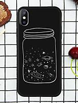 Недорогие -Кейс для Назначение Apple iPhone XR / iPhone XS Max С узором Кейс на заднюю панель Мультипликация Мягкий ТПУ для iPhone XS / iPhone XR / iPhone XS Max
