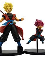 Недорогие -Аниме Фигурки Вдохновлен Жемчуг дракона Goku Son Goku ПВХ 21 cm См Модель игрушки игрушки куклы