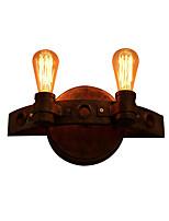 Недорогие -промышленные настенные светильники fxitures 2 светильника настенные бра современные настенные светильники / настенные светильники скрытого монтажа&усилитель; бра магазины / кафе / кабинет / офис