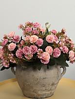 Недорогие -Искусственные Цветы 5 Филиал Классический Традиционный / классический европейский Гвоздика Вечные цветы Букеты на стол