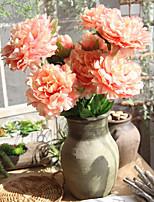 Недорогие -Искусственные Цветы 2 Филиал Классический Традиционный / классический европейский Пионы Вечные цветы Букеты на стол