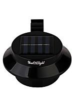 Недорогие -YouOKLight 1шт 0.3 W Солнечный свет стены Управление освещением Тёплый белый 5 V двор / Сад 3 Светодиодные бусины