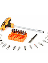Недорогие -JAKEMY Портативные Инструменты 34 в 1 Наборы инструментов Домашний ремонт Ремонт Apple Samsung для ремонта компьютеров