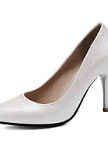 Недорогие -Жен. Искусственная кожа Весна лето Обувь на каблуках На шпильке Заостренный носок Серебряный / Розовый