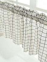 Недорогие -Современный Затемняющие 1 панель Занавес Кухня   Curtains