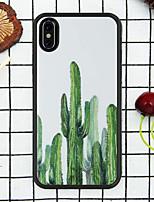Недорогие -Кейс для Назначение Apple iPhone XR / iPhone XS Max С узором Кейс на заднюю панель Растения Мягкий ТПУ для iPhone XS / iPhone XR / iPhone XS Max