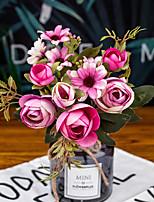 Недорогие -Искусственные Цветы 1 Филиал Односпальный комплект (Ш 150 x Д 200 см) Современный современный Свадьба Азалия Букеты на стол