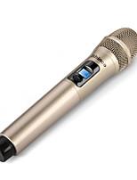Недорогие -беспроводной микрофон динамический микрофон ручной микрофон караоке микрофон