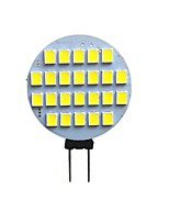 Недорогие -1шт 3 W 210 lm G4 Двухштырьковые LED лампы 24 Светодиодные бусины SMD 2835