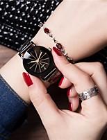 Недорогие -Жен. Нарядные часы Наручные часы Кварцевый Черный Хронометр Повседневные часы Аналоговый Мода - Черный