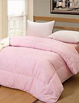 Недорогие -удобный - 1 одеяло Зима Хлопок Однотонный