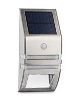 Недорогие -1шт 0.5 W Солнечный свет стены Водонепроницаемый / Работает от солнечной энергии / Монитор обнаружения движения Белый / Теплый Желтый 3.2 V Уличное освещение / двор / Сад 2 Светодиодные бусины