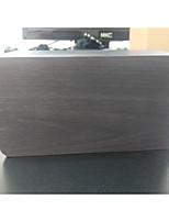 Недорогие -Часы Настольные часы и часы для полок Современный современный деревянный Квадратная