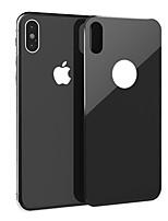 Недорогие -Защитная плёнка для экрана для Apple iPhone XS Закаленное стекло 1 ед. Защитная пленка для задней панели Уровень защиты 9H / Ультратонкий / Защита от царапин