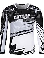 Недорогие -TT-18 Одежда для мотоциклов Короткие рукава для Муж. Весна & осень Эластичный / Дышащий / Быстровысыхающий