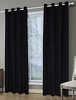 Недорогие -Современный Конфиденциальность 1 панель Занавес Гостиная   Curtains