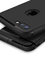 Недорогие -Кейс для Назначение Apple iPhone XS Max / iPhone 6 Ультратонкий Кейс на заднюю панель Однотонный Мягкий ТПУ для iPhone XS / iPhone XR / iPhone XS Max