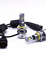 Недорогие -2pcs 9006 Автомобиль Лампы 45 W 6000 lm 6 Светодиодная лампа Налобный фонарь Назначение Все года