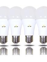 Недорогие -EXUP® 4шт 15 W 1400 lm B22 / E26 / E27 Круглые LED лампы A70 42 Светодиодные бусины SMD 2835 Тёплый белый / Холодный белый 220-240 V / 110-130 V