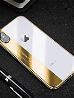 Недорогие -Кейс для Назначение Apple iPhone XR / iPhone XS Max Защита от удара / Покрытие Кейс на заднюю панель Слова / выражения Мягкий ТПУ для iPhone XS / iPhone XR / iPhone XS Max