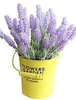 Недорогие -Искусственные Цветы 5 Филиал Классический Традиционный / классический Простой стиль Светло-голубой Вечные цветы Букеты на стол