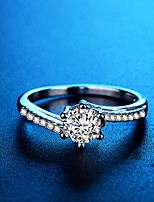 Недорогие -Жен. европейский / Мода Кольца Латунь