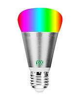 Недорогие -ywxlight®1pc 11w 800-900lm rgbw домашнее освещение wifi app пульт дистанционного управления с затемнением alexa voice светодиодная лампа умный шарик переменного тока 85-265 В