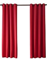 Недорогие -Современный Солнцезащитные 1 панель Занавес Гостиная   Curtains