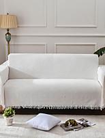Недорогие -Диван Бросай, Однотонный Полиэстер Кисточки удобный одеяла