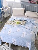Недорогие -удобный - 1 одеяло Лето Полиэстер Геометрический принт