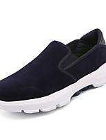 Недорогие -Муж. Комфортная обувь Полиуретан Весна На каждый день Мокасины и Свитер Нескользкий Черный / Серый / Синий