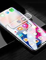 Недорогие -Защитная плёнка для экрана для Apple iPhone XS / iPhone XR / iPhone XS Max TPG Hydrogel 1 ед. Защитная пленка для экрана HD / Взрывозащищенный / Ультратонкий
