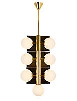 Недорогие -ZHISHU 7-Light геометрический / Оригинальные Люстры и лампы Рассеянное освещение Электропокрытие Металл Стекло Творчество, Новый дизайн 110-120Вольт / 220-240Вольт