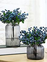 Недорогие -Искусственные Цветы 5 Филиал Классический Стиль Простой стиль Pастений Вечные цветы Букеты на стол