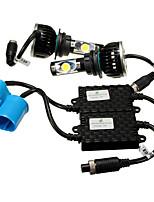 Недорогие -2pcs H13 / 9004 / H7 Автомобиль Лампы 60 W 4800 lm Светодиодная лампа Налобный фонарь Назначение Универсальный / Volkswagen / Toyota Все года