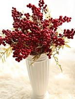 Недорогие -Искусственные Цветы 5 Филиал Классический европейский Пастораль Стиль Фрукты Вечные цветы Букеты на стол