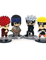 Недорогие -Аниме Фигурки Вдохновлен Наруто Gaara Naruto Uzumaki ПВХ 8 cm См Модель игрушки игрушки куклы