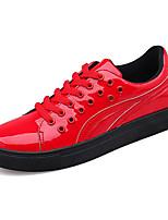 Недорогие -Муж. Комфортная обувь Полиуретан Весна На каждый день Кеды Нескользкий Золотой / Черный / Красный